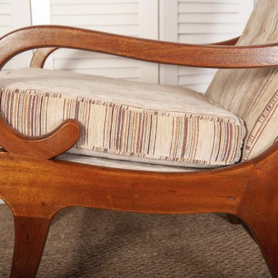 Mabel & Maurice Parker Knoll Slipper Chairs