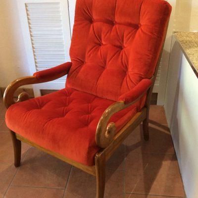 Roger Cintique Fireside Chair