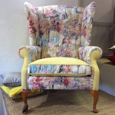 Sunshine Wingback Chair