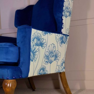 The Bluebell Girls Victorian Armchairs