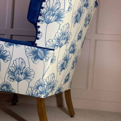 Bluebell Girls Victorian Armchairs