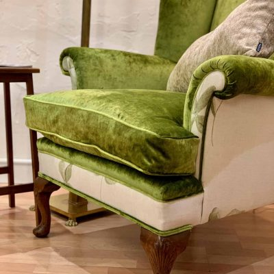 Clover Victorian Library Chair